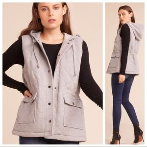 NWT Jack by BB Dakota Doing Things Quilted Vest